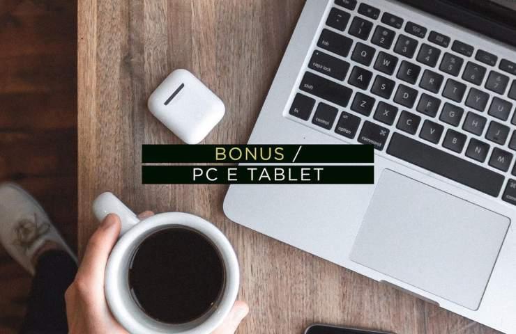 Bonus Pc e Tablet