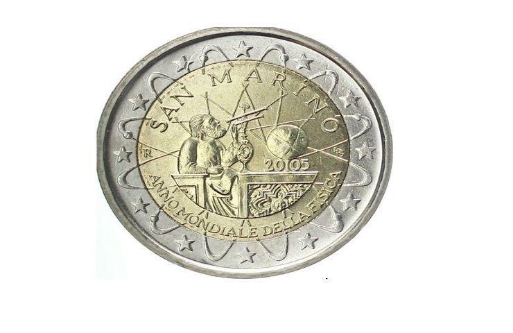 Due euro San Marino 2005