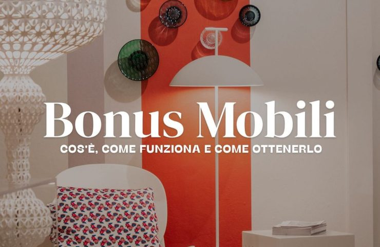 Bonus mobili ed elettrodomestici