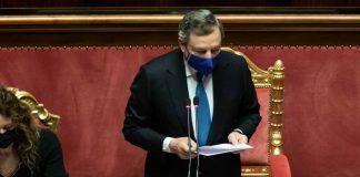 Mario Draghi cancella Quota 100