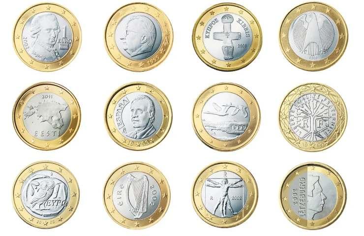 Monete da 1 euro - Foto da Pixabay