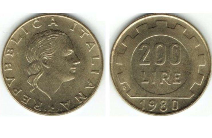 Monete rare il valore delle 200 lire