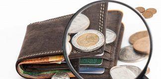 Portafogli moneta fortuna
