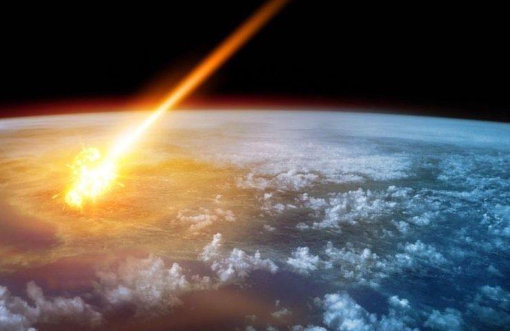asteroide colpisce la Terra